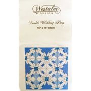 Westalee Double Wedding Ring Template, Set 2 The Arcs by Westalee Quilt Blocks - OzQuilts