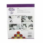 Stitch Fast Self-Stick Template 1 inch Octagon by The Gypsy Quilter Clearance - OzQuilts