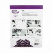 Stitch Fast Self-Stick Template 1 in Jewel by The Gypsy Quilter Clearance - OzQuilts