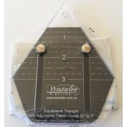 Westalee Mini 60 Degree Equilateral Triangle by Westalee Triangle Rulers - OzQuilts