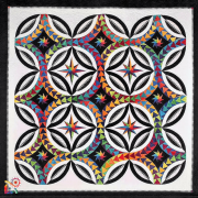 Fanciful Flight Pattern & Foundation Papers by Jacqueline de Jongue by BeColourful Quilts by Jacqueline de Jongue Patterns & Foundation Papers - OzQuilts