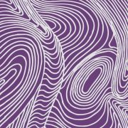 River Dreaming in Purple Australian Aboriginal Art Fabric by Barbara Egan by M & S Textiles Cut from the Bolt - OzQuilts