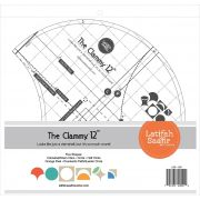 Clammy Ruler 12 Inch by Latifah Saafir Studios Specialty Rulers - OzQuilts