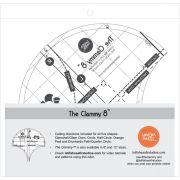 Clammy Ruler 8 Inch by Latifah Saafir Studios Specialty Rulers - OzQuilts
