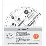Clammy Ruler 6 Inch by Latifah Saafir Studios Specialty Rulers - OzQuilts