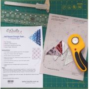 """Half Square Triangle Paper 1"""" Finished Size by OzQuilts - Pre-printed Triangle Papers"""