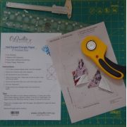 """Half Square Triangle Paper 2"""" Finished Size by OzQuilts - Pre-printed Triangle Papers"""