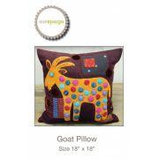 Goat Pillow Pattern by Sue Spargo by Sue Spargo - Sue Spargo
