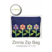 Zinnia Zip Bag Pattern by Sue Spargo by Sue Spargo - Sue Spargo