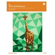 Giraffe Abstractions Quilt Pattern by Violet Craft by Violet Craft - Abstractions Patterns Violet Craft