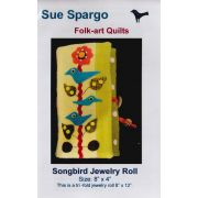 Songbird Jewelry Roll Pattern by Sue Spargo by Sue Spargo - Sue Spargo