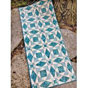 Storm On the Lake Table Runner Cut Loose Press Pattern by Cut Loose Press Patterns - Cut Loose Press Patterns