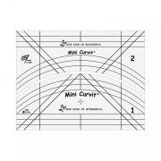 Mini Curvit Long-arm Ruler Set by Sew Kind of Wonderful by Sew Kind of Wonderful - Scallops, Wave, Curve Rulers
