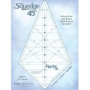 Squedge 45 Ruler by Cheryl Phillips by Phillips Fiber Art Specialty Rulers - OzQuilts