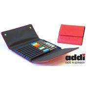 Addi Crochet Hook Set & Case, 9 Hooks Sizes 2mm to 6mm by Addi - Crochet Hooks - Addi