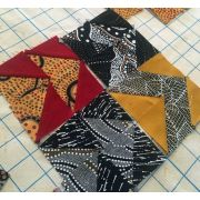 """Half Square Triangle Paper, 2 1/2"""" Finished Size by OzQuilts Pre-printed Triangle Papers - OzQuilts"""