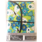 Karen Kay Buckley Perfect Thread Bags Lime & Turquoise Floral by Karen Kay Buckley - Organisers