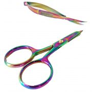 Tula Pink Large Ring Micro Tip 4 inch Scissor by Tula Pink - Scissors