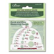 Clover Knitting Needle Gauge by Clover - Other Accessories