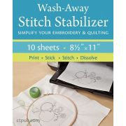 Wash Away Stitch Stabiliser by C&T Publishing Stabiliser & Interfacing - OzQuilts