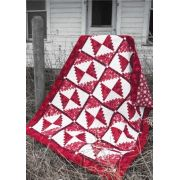 Candy Cane Cabin Cut Loose Press Pattern by Quiltworx - Cut Loose Press Patterns