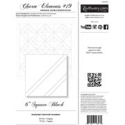Quiltworx Pre-printed Foundation Paper Pack -Charm Elements 19 by Quiltworx - Judy Niemeyer Quiltworx
