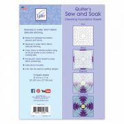 June Tailor Sew and Soak Foundation Paper Sheets (10) by June Tailor Foundation Papers - OzQuilts