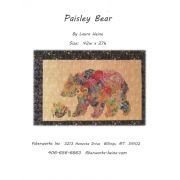 Paisey Bear Collage Pattern by Fiberworks Collage  - OzQuilts
