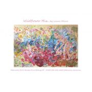 Wildflower Mix Collage Pattern by Fiberworks Collage  - OzQuilts