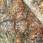 Emu Bush in Brown by Barbara Egan by M & S Textiles - Cut from the Bolt