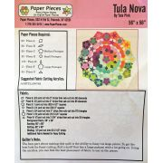 Tula Nova Pattern and Paper Piecing Pack by Tula Pink - Paper Pieces Kits & Templates