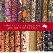 Aboriginal Art Fabric 20 Fat Quarter Bundle E by M & S Textiles Fat Quarter Packs - OzQuilts