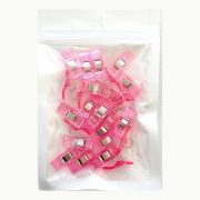 Quilter's Wonder Clips - 25 Pink Clips by OzQuilts - Wonder Clips & Hem Clips