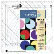 Classic Curves Ruler by Color Girl Quilts - Scallops, Wave, Curve Rulers