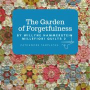 The Garden of Forgetfulness Template Set from Millefiori Quilts 2 - Original Size by  Millefiori Book 2 - OzQuilts