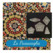 "La Passacaglia Template Set from Millefiori Quilts - Traditional Set in 1.5"" Size by OzQuilts - Millefiori Book 1"