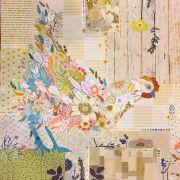 Hen Rietta Collage Pattern by Fibreworks by Fiberworks Collage  - OzQuilts