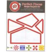 Perfect pieces Wedges Template Set by  Geometric Shapes - OzQuilts
