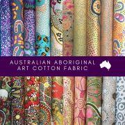 Aboriginal Art Fabric 20 Fat Quarter Bundle A by M & S Textiles Fat Quarter Packs - OzQuilts