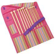 Clover Getaway Takumi Bamboo Knitting Needle 7 Piece Gift Set by Clover - Knitting Needles