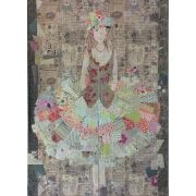 Dress Collage Pattern by Fibreworks by Fiberworks Collage  - OzQuilts