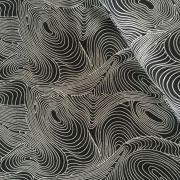 Aboriginal Art Fabric 5 Fat Quarter Bundle - Purple, Black & Orange by M & S Textiles Fat Quarter Packs - OzQuilts