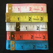 Yellow Tape Measure Extra Long 200cm /79 Inches -Imperial & Metric by OzQuilts Tape Measures - OzQuilts
