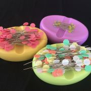 Magnetic Pin & Wonder Clip Cushion - Yellow by OzQuilts - Organisers