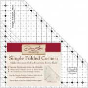 Simple Folded Corners Ruler by Antler Quilt Design Specialty Rulers - OzQuilts