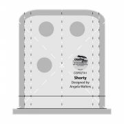Creative Grids Machine Quilting Tool - Shorty by Creative Grids Machine Quilting Rulers - OzQuilts