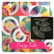 Crazy Tula Template Set from New York Beauties & Flying Geese Book by Carl Hentsch by OzQuilts - New York Beauty Templates