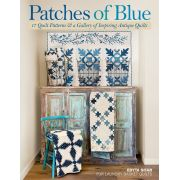 Patches Of Blue by Edyta Sitar by  Laundry Basket Quilts - OzQuilts