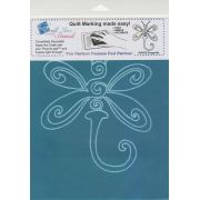 Full Line Stencil Dragonfly by Hancy Full Line Stencils Pounce Pads & Quilt Stencils - OzQuilts