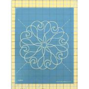 Full Line Stencil Lacy Heart Array by Hancy Full Line Stencils Pounce Pads & Quilt Stencils - OzQuilts